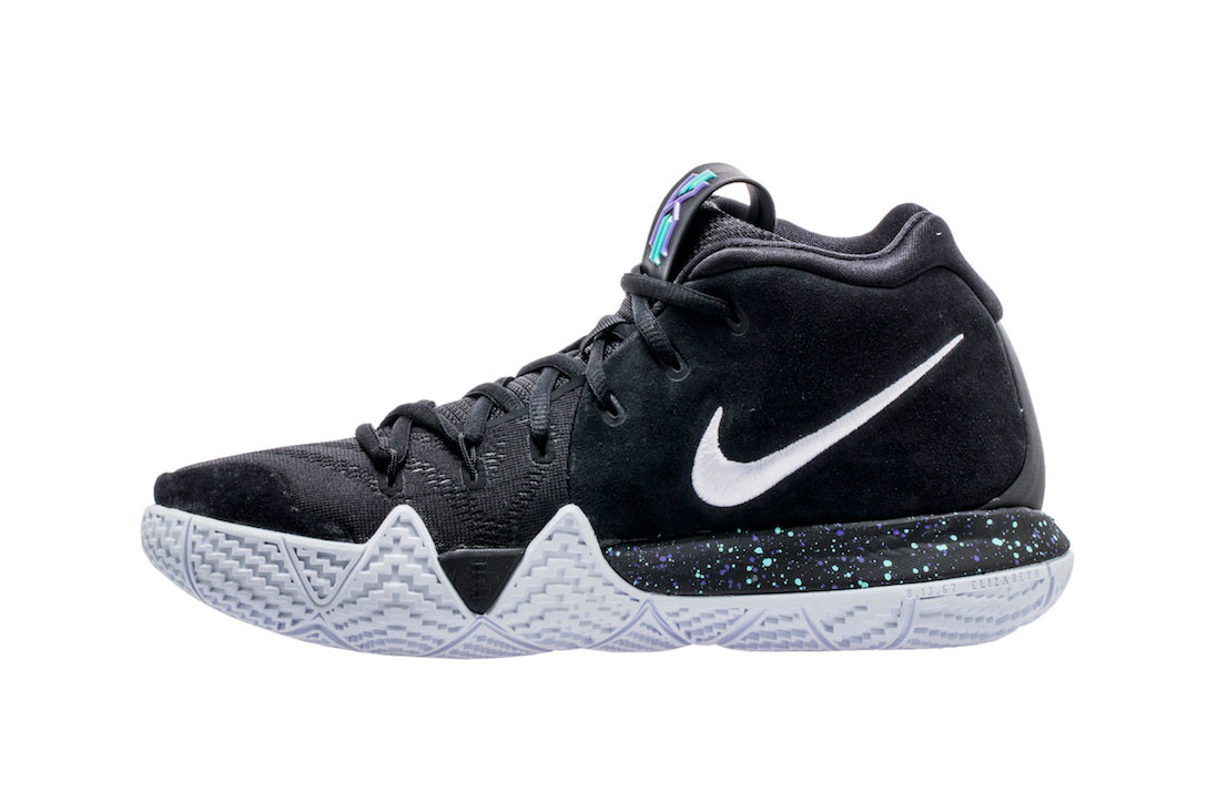kyrie irving 4 black and white