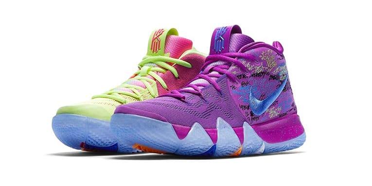 Nike Kyrie 4 Multi Color Edition