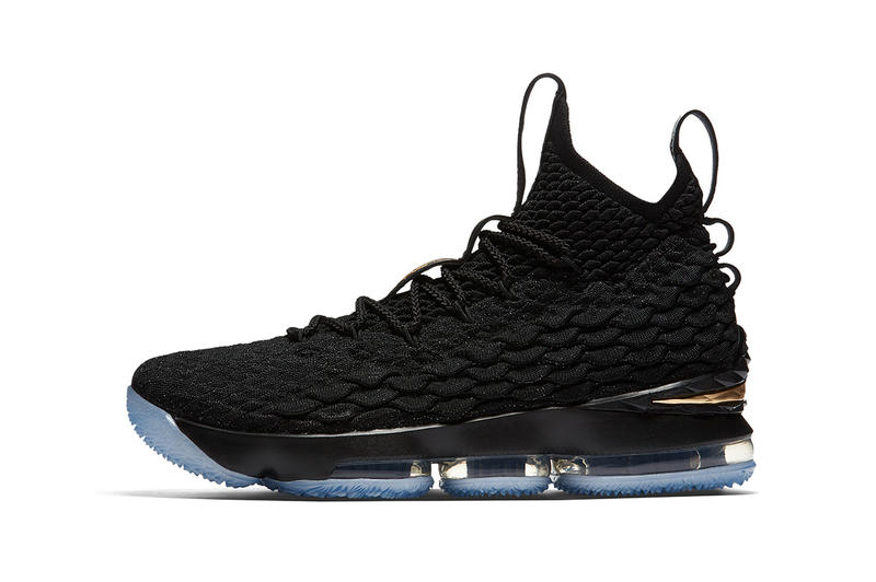 1e11d1e9bbb Nike LeBron 15 Black Metallic Gold 2017 December 2018 January Release Date  Info Sneakers Shoes Footwear