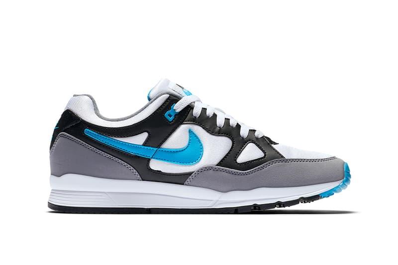 Nike Air Span II Black White Grey Blue Sneaker Footwear
