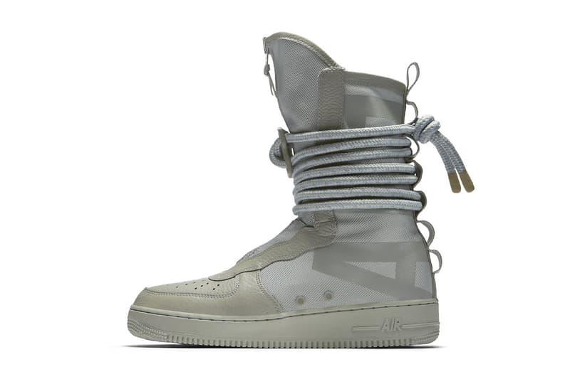 Nike SF AF1 High Sage Green 2017 December 7 Release Date Info Sneakers Shoes  Footwear Special 14b5178d3