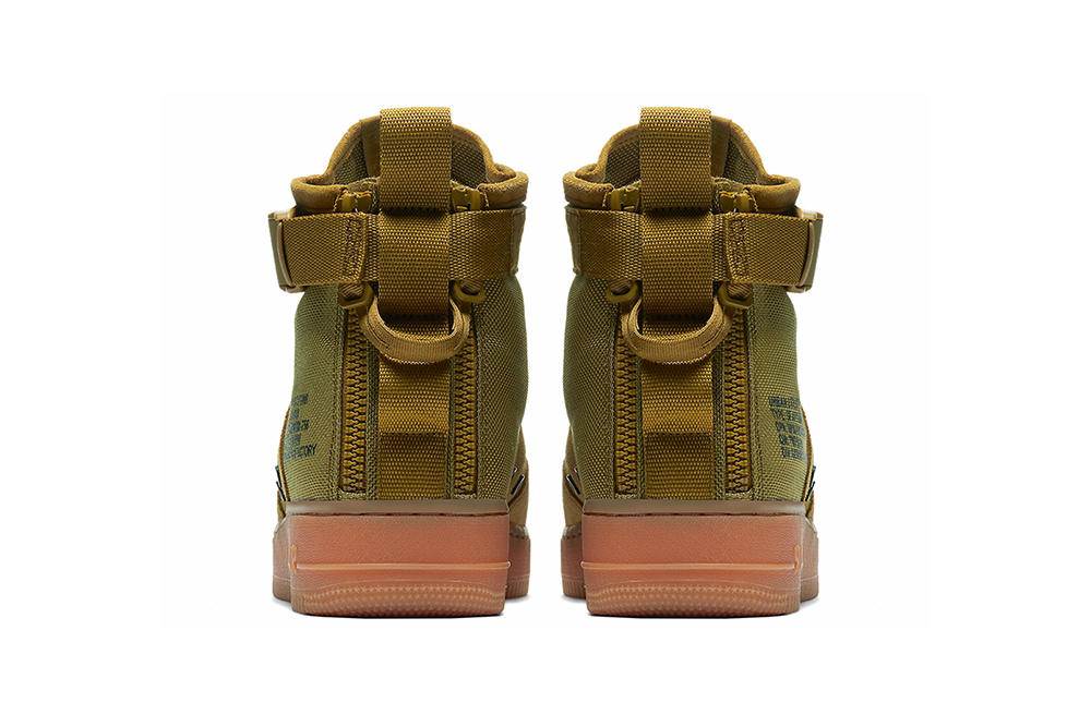 Nike SF-AF1 Mid Military Green Special Field Air Force 1 Gum