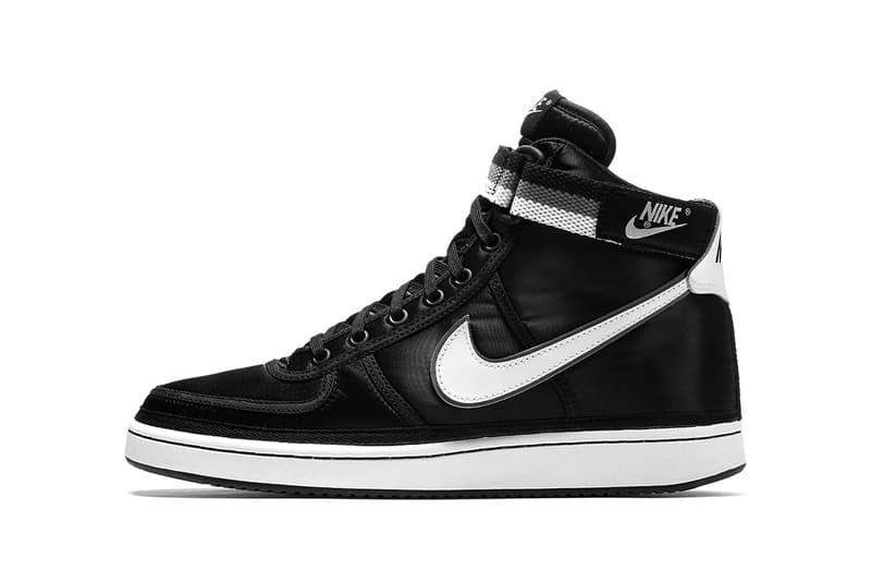sale retailer b53f4 44fae Nike Vandal High Supreme Black Grey 2017 December Release Date Info  Sneakers Shoes Footwear