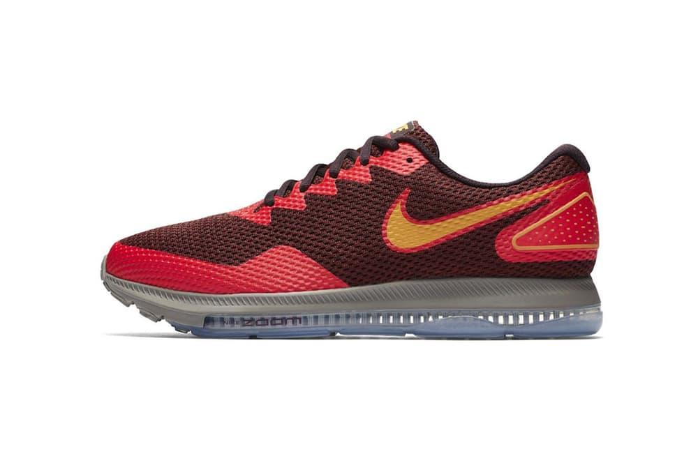 Nike Zoom All Out Low 2 Siren Red 2017 December Release Date Info Port Wine Laser Orange Sneakers Shoes Footwear