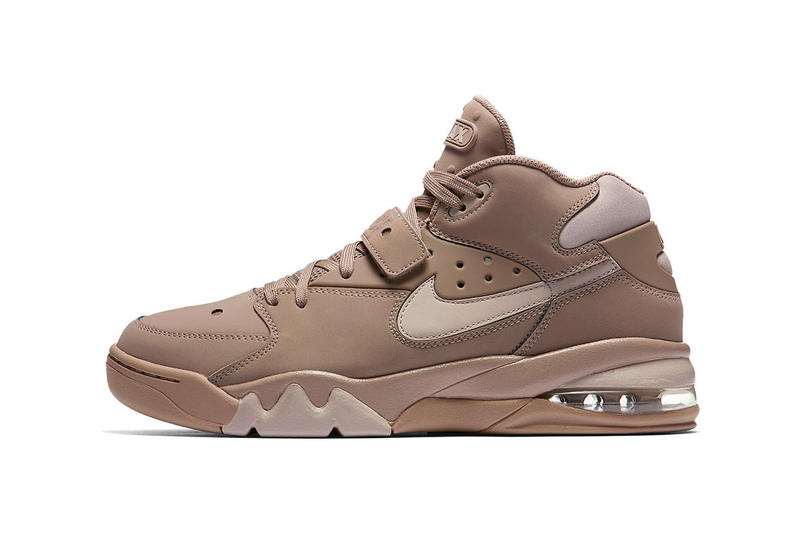 Nike Air Force Max Blue Tan Sneakers Footwear
