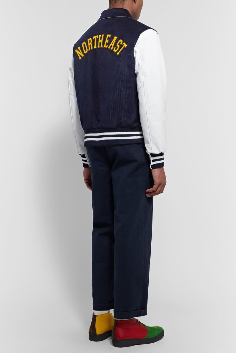 Noah Golden Bear Varsity Jacket Outerwear Clothing Fashion Apparel