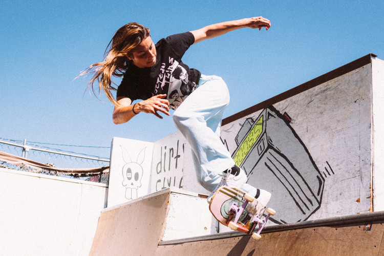 huge discount 0f0e9 71754 Take a Ride With Nora Vasconcellos, adidas  First Female Pro Skater