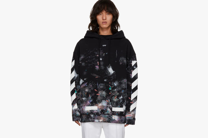 89f409f8d45e05 Off White Galaxy SSENSE Exclusive Hoodie T Shirt Sweatshirt 2017 December  Release Date Info Virgil Abloh