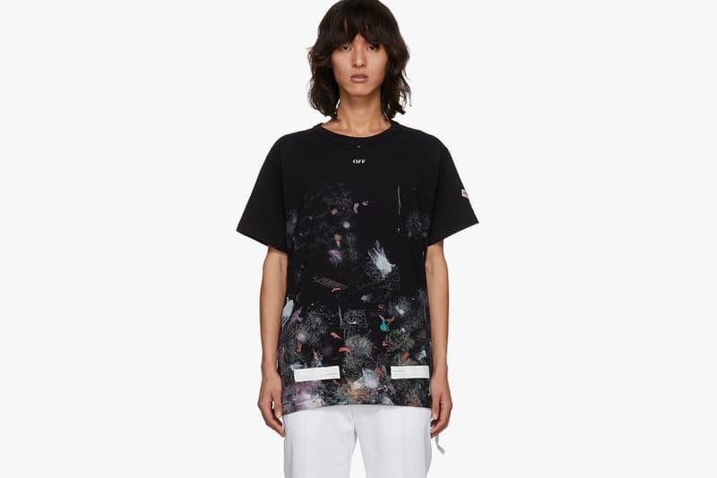 Off White Galaxy SSENSE Exclusive Hoodie T Shirt Sweatshirt 2017 December Release Date Info Virgil Abloh