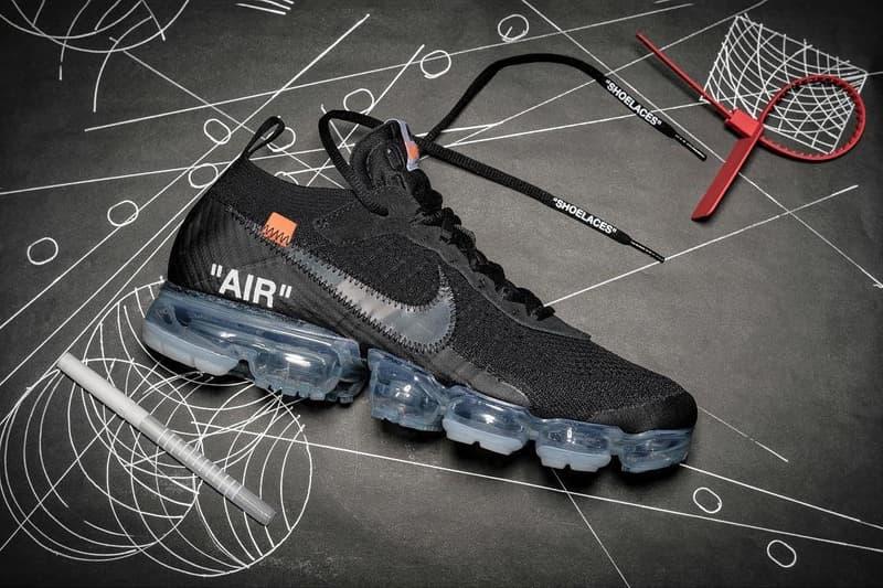 Off-White™ Nike Air VaporMax Black 2018 Release Virgil Abloh