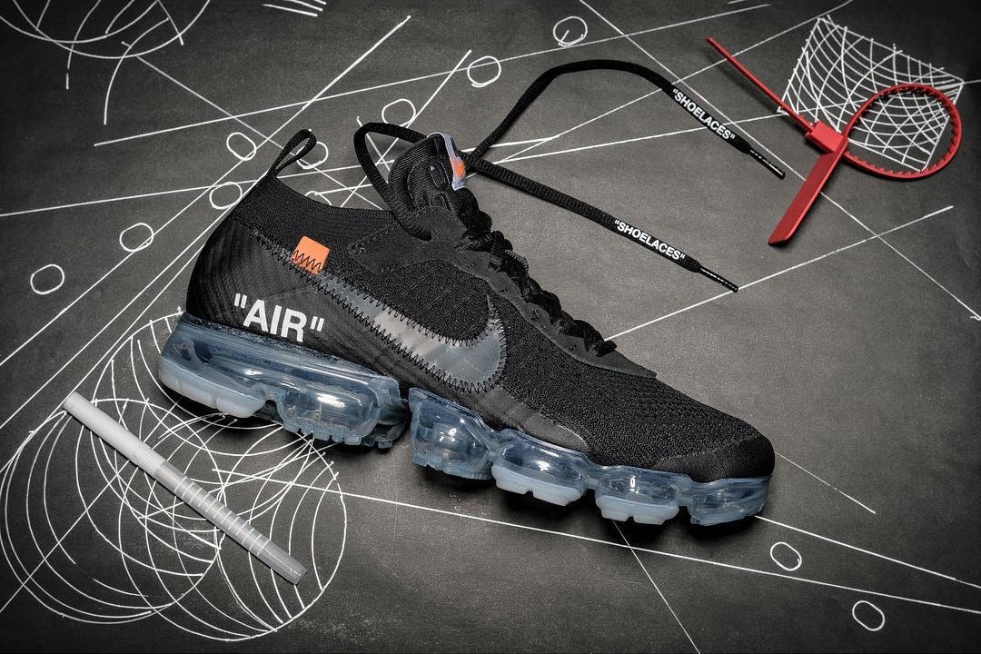 Off White X Nike Air Vapormax Black Model Hypebeast