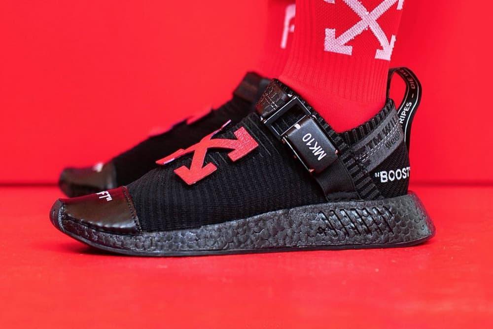 OFF-White adidas NMD Custom Sneakers Virgil Abloh Calvinwcyy edmondloo Marc Klok