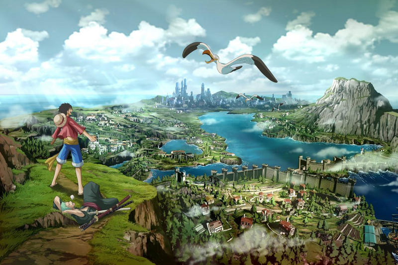 One Piece World Seeker Video Game Announcement Bandai Namco Videogame 2018 Release Date Info PC PlayStation 4 PS4 Xbox One