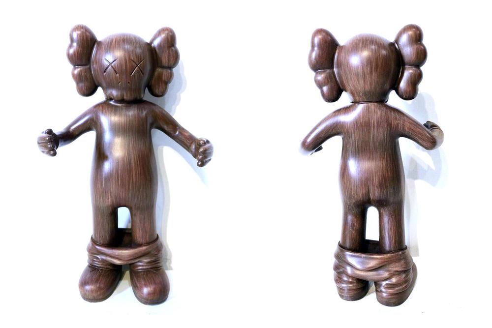 OriginallyFake Woody FLABSLAB KAWS figurine sculpture collectible purchase