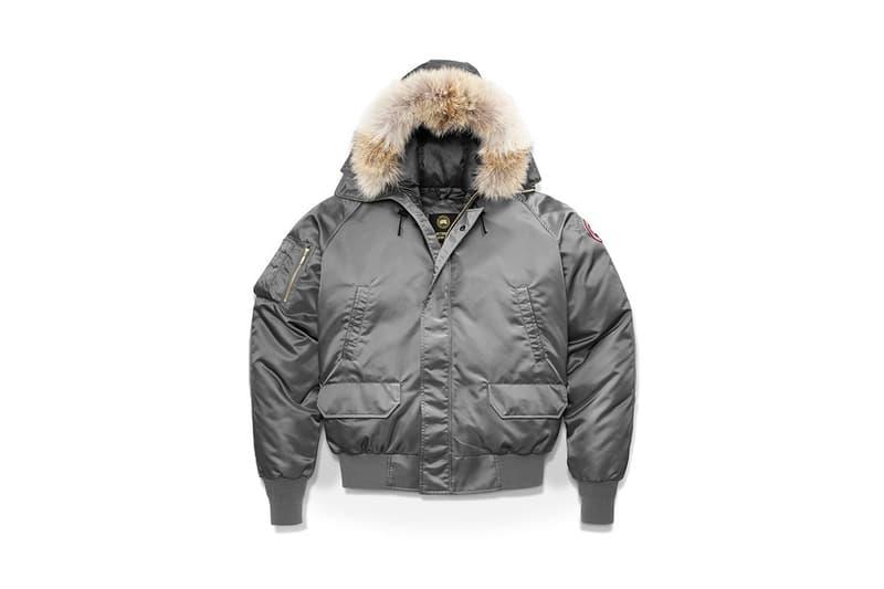 OVO Canada Goose Winter 2017 Collaboration Chilliwack Bomber Boreal Beanie Logo Blanket Scarf