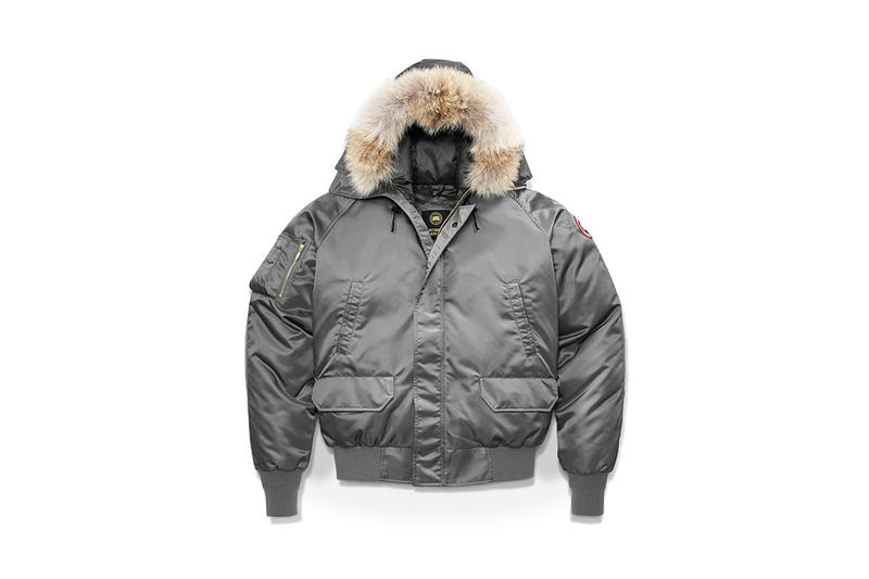 OVO Canada Goose Winter 2017 Collaboration Chilliwack Bomber Boreal Beanie Logo Blanket Scarf
