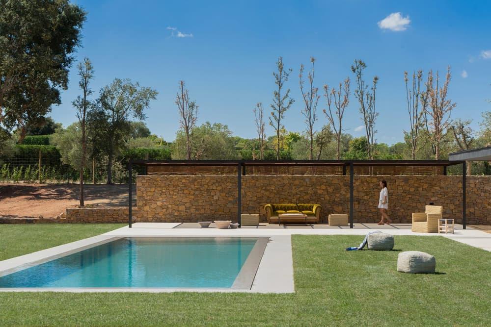 Oxygen House Susanna Cots Emporda Spain Oak Stone Interior Design