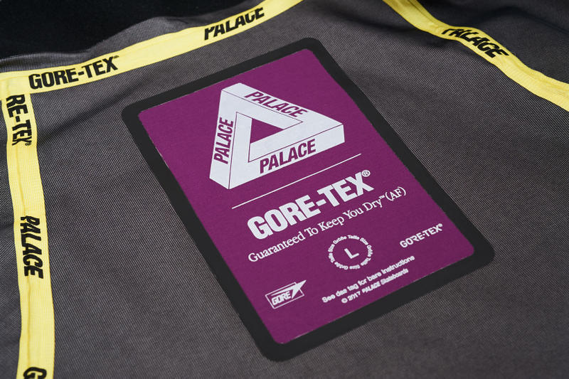 Palace GORETEX GORE TEX Jackets Fall Winter 2017 Release Info Date Drops December 22 2017 Purple Blue Orange Black