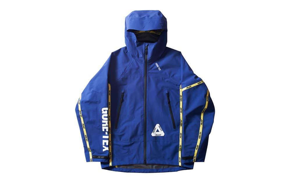 Palace GORETEX GORE TEX Jackets Fall Winter 2017 Release Info Date Drops December 22 2017 Purple Blue Orange Black