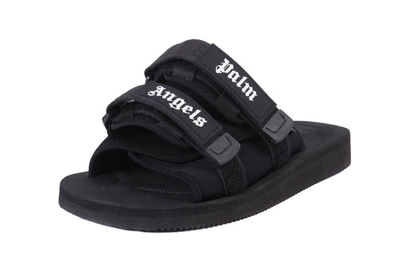 Palm Angels SUICOKE Sliders Collaboration Black Purple 2017 December Release Date Info