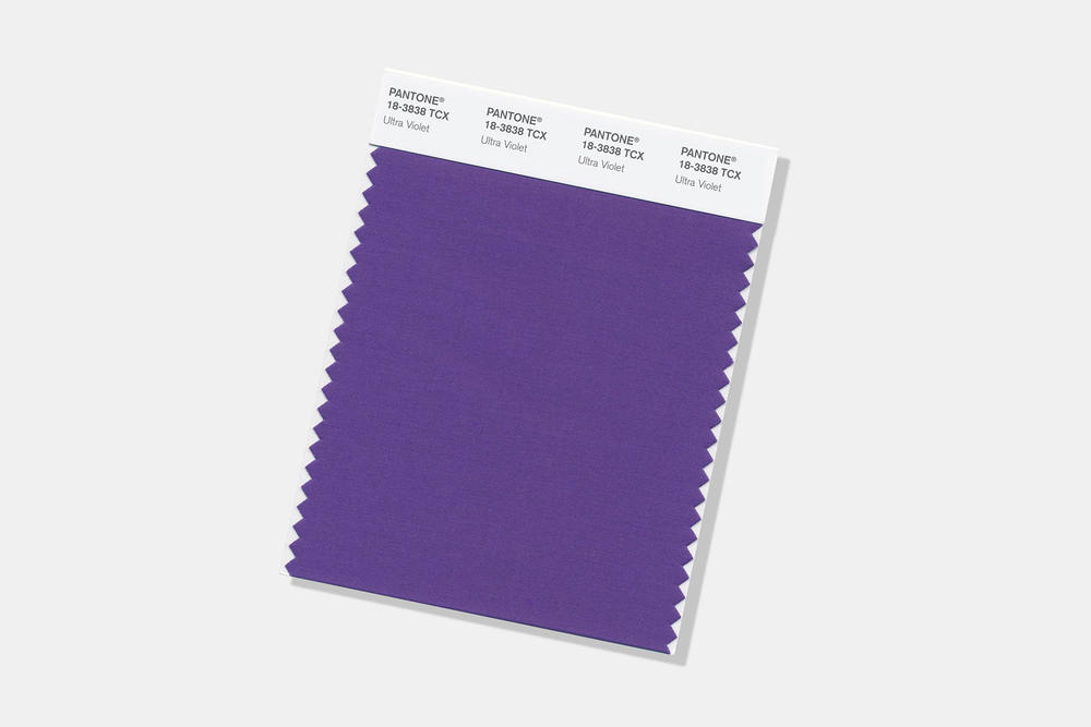 Pantone 2018 Color of the Year Ultra Violet Purple 18 3838