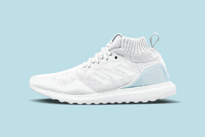 Parley adidas UltraBOOST Mid 2018 February Release Date Info Sneakers Shoes Footwear for the Oceans Collaboration White Blue