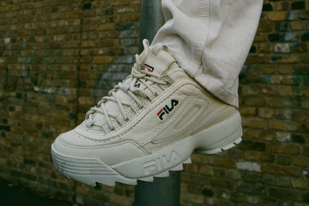 Patta x FILA Disruptor Low Sneaker With