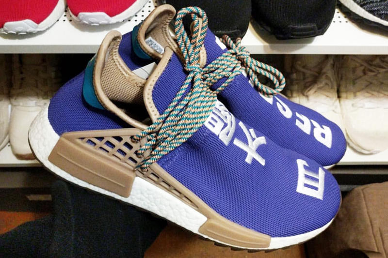 697e6ce737a7 A Better Look at the Friends   Family Pharrell x adidas Hu NMD Trail
