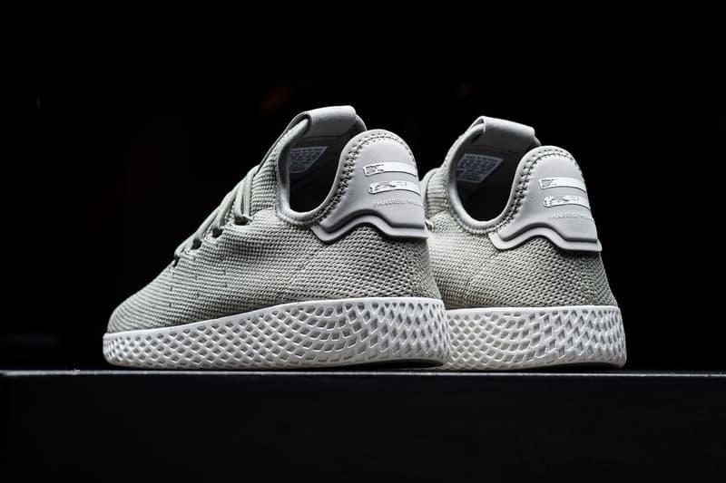 Pharrell Williams adidas Originals Tennis Hu Charcoal Grey