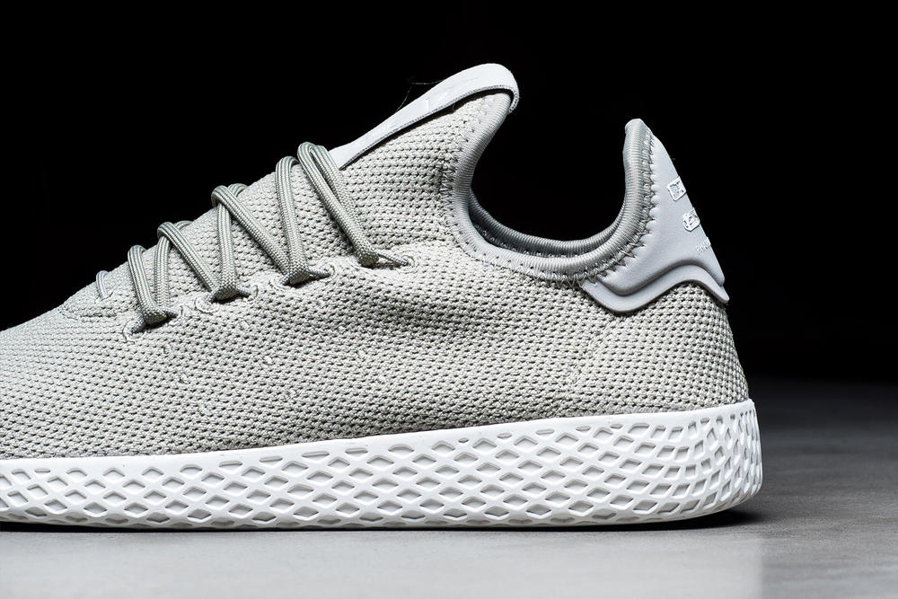 Pharrell Williams adidas Originals Tennis Hu Charcoal Grey