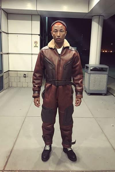 Pharrell Williams Billionaire Boys Club Bee Line Flight Suit Brendon Babenzien Noah Fashion Clothing Apparel Outerwear
