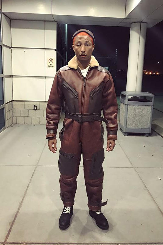 Pharrell Williams Billionaire Boys Club Bee Line Flight Suit Brendon Babenzien Noah Fashion Clothing Apparel Outerwear