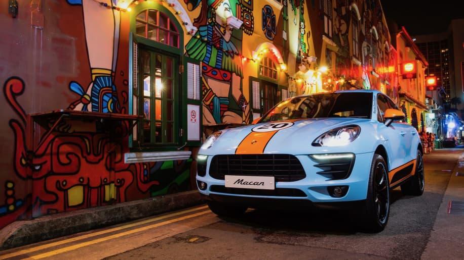 Porsche Macan Racing Le Mans