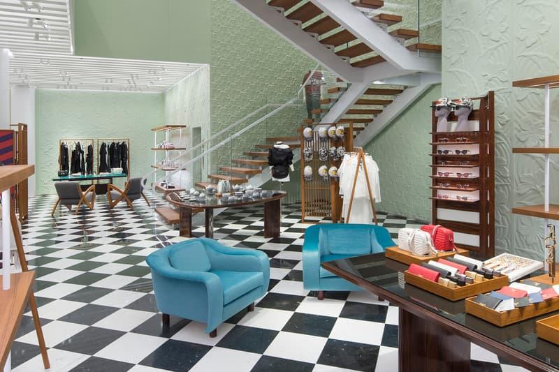 Prada Miami Design District Store Art Basel Florida Luxury Fashion Apparel Accessories Architecture