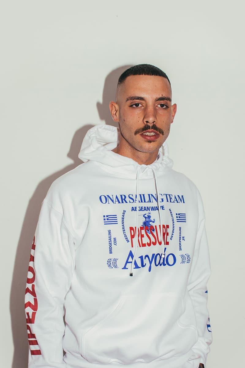 Pressure Paris 2018 Spring Summer Lookbook Release Info greece design streetwear graphic t shirt tees