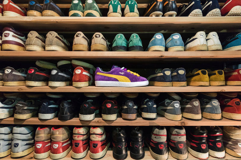 PUMA Suede MIJ Collectors Made in Japan Yellow Purple December 16 2017 Release
