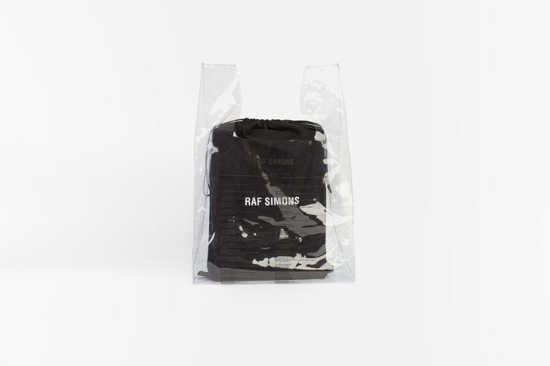 Raf Simons America Tour Voo Store Berlin RS Shopping Bag