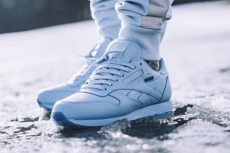 Raised By Wolves Reebok Leather Ripple GORE TEX Pack Classic White Cape Blue 2017 December 15 Release Date Info Sneakers Shoes