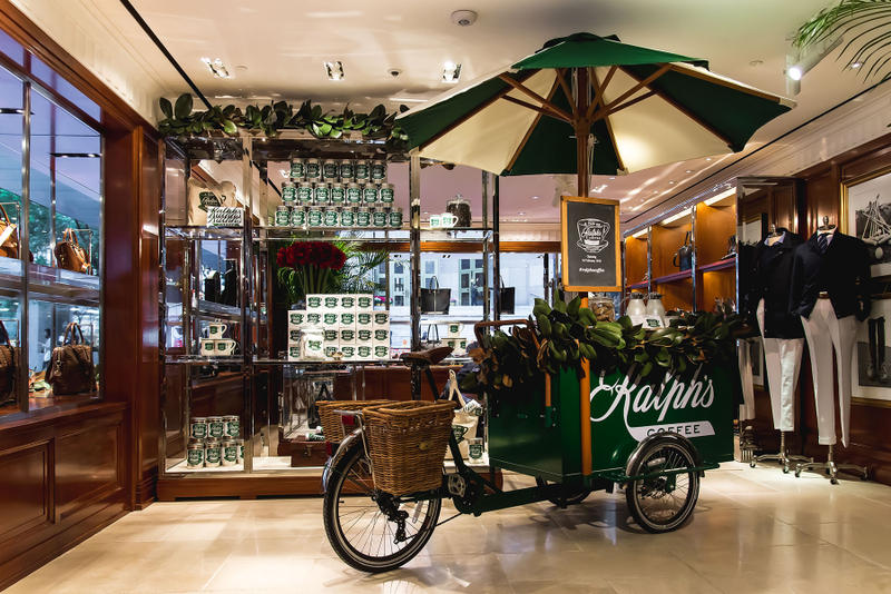 Ralph's Coffee Hong Kong Ralph Lauren Opening Cafe Polo