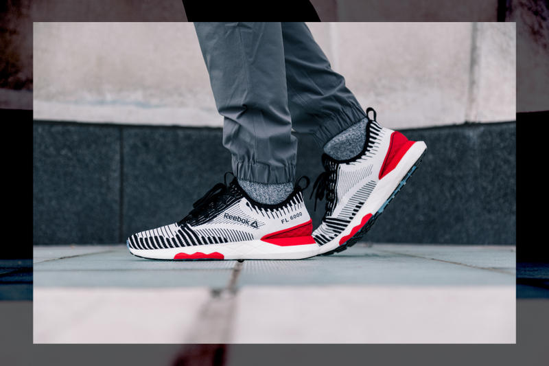Reebok Floatride 6000 Black/White and Primal Red Colorway
