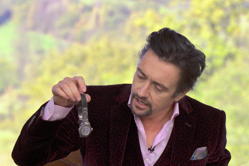 Richard Hammond's Rolex Sea-Dweller From Crash