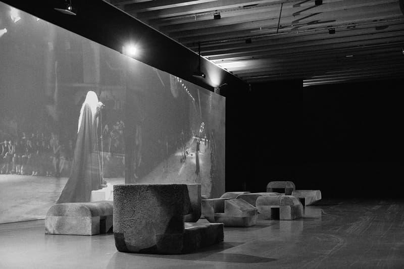Rick Owens SUBHUMAN INHUMAN SUPERHUMAN Look Inside Milan Italy Triennale Di Milano