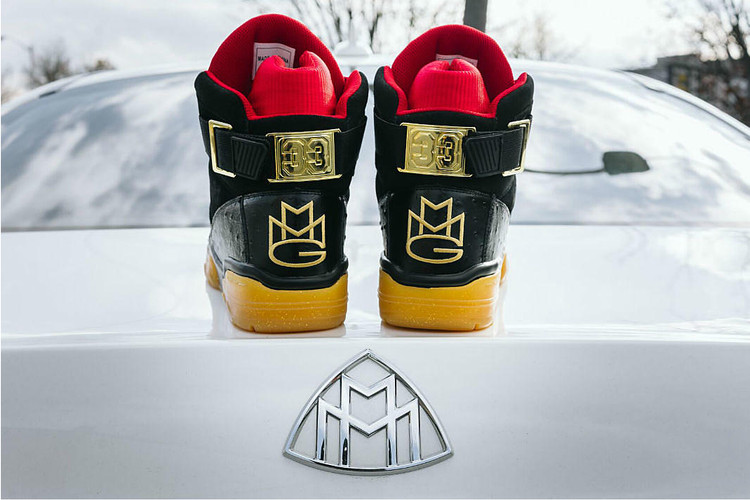 innovative design b63b0 f8b4b Rick Ross and Ewing Athletics Link on Luxe 33 Hi Sneaker