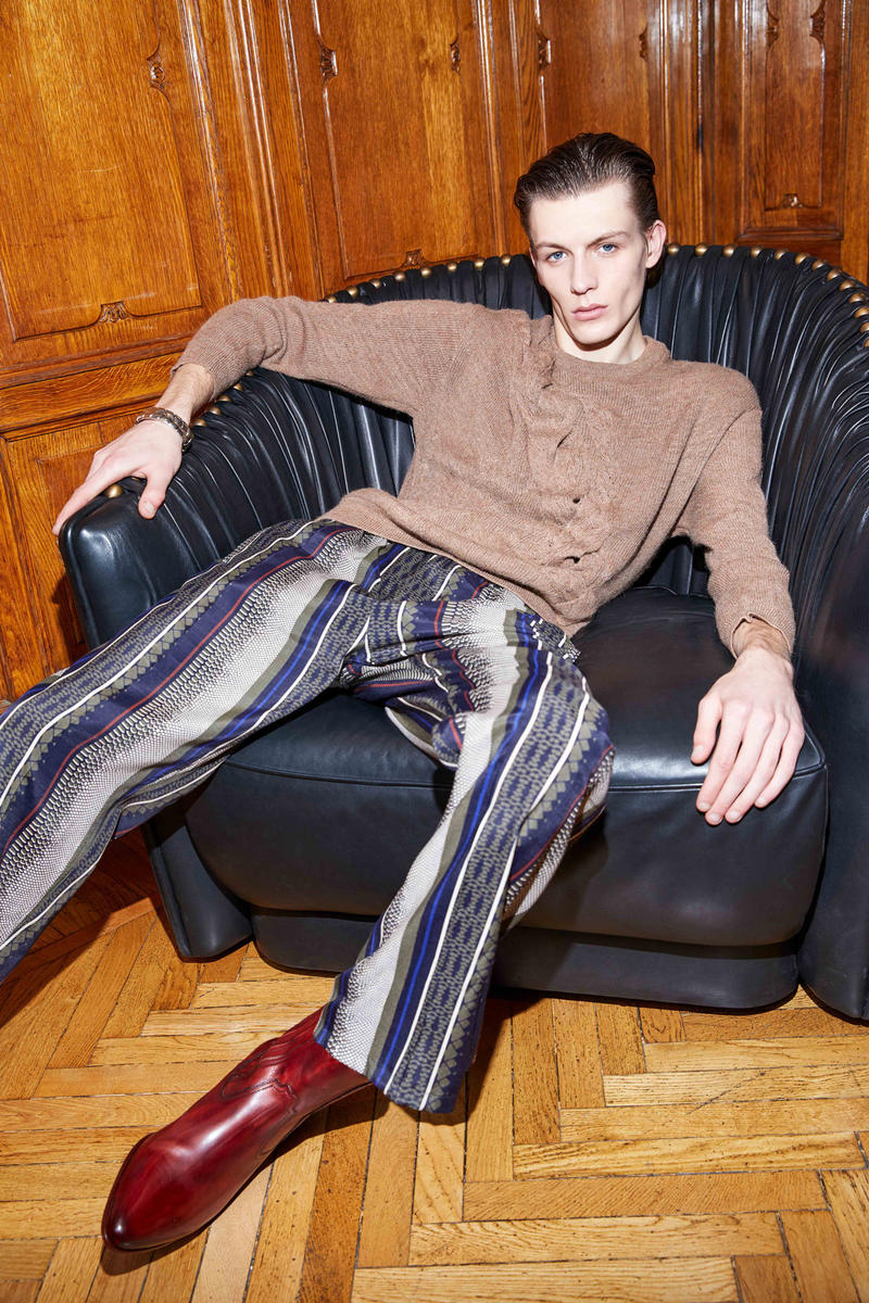 Roberto Cavalli 2018 Pre Fall Mens Collection Lookbook Suits Jackets Pants