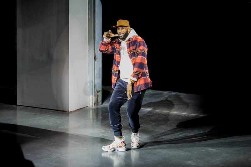 Ronnie Fieg LeBron James Nike Collaboration KITH footwear fashion