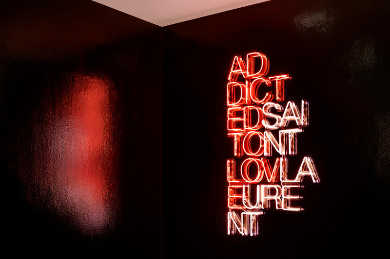 Saint Laurent Anthony Vaccarello colette Leica Nobuyashi Araki pop-up Paris
