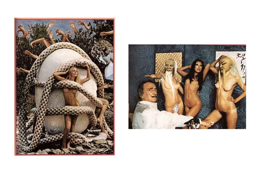 Salvador Dali art surrealism playboy nudes
