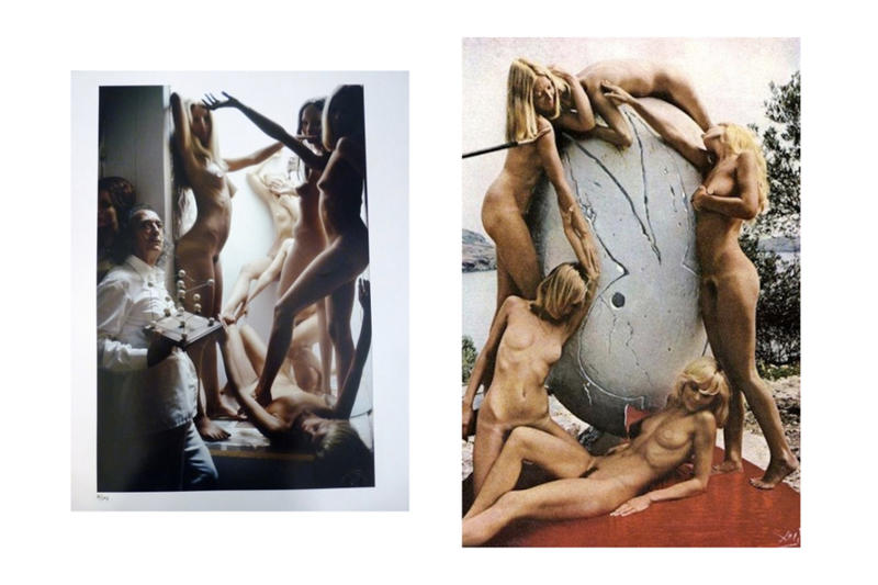 Salvador Dali art surrealism playboy nudes