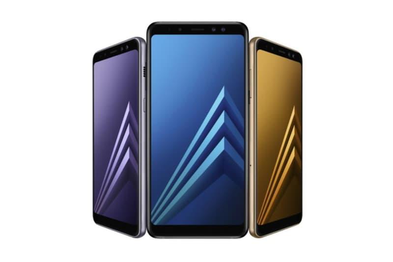 Samsung Galaxy A8 Plus Smartphone Dual Front Selfie Camera