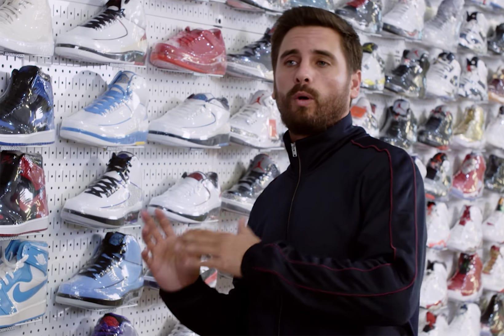 Scott Disick Goes 'Sneaker Shopping' in
